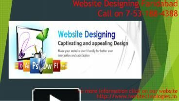 Rated as best for web design India, e-Intelligence builds innovative, user-friendly & attractive websites. Get in touch with best website Development Company in Faridabad today. For more learning visit our webpage http://www.iwebtechnologies.in/