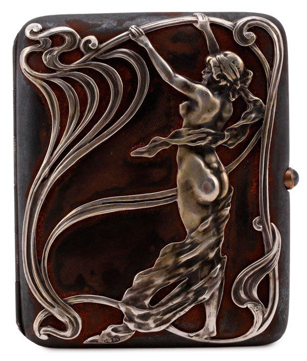 Art Nouveau ~ Russian cigarette case | JV