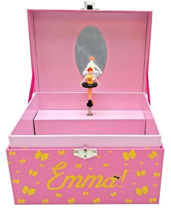 This charming Emma Musical Jewellery Box is the perfect gift this Christmas to give to your little ballerina.