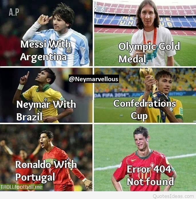 funny ronaldo vs messi memes - Google Search