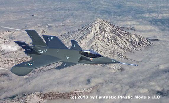 """Qaher 313 """"Conqeruor"""" Iranian """"Hoax"""" Stealth Fighter"""