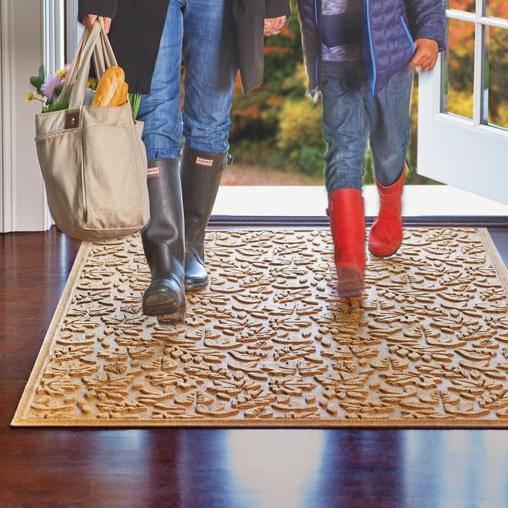 featuring a whimsical raised leaf design these floor mats and stair treads stand up to