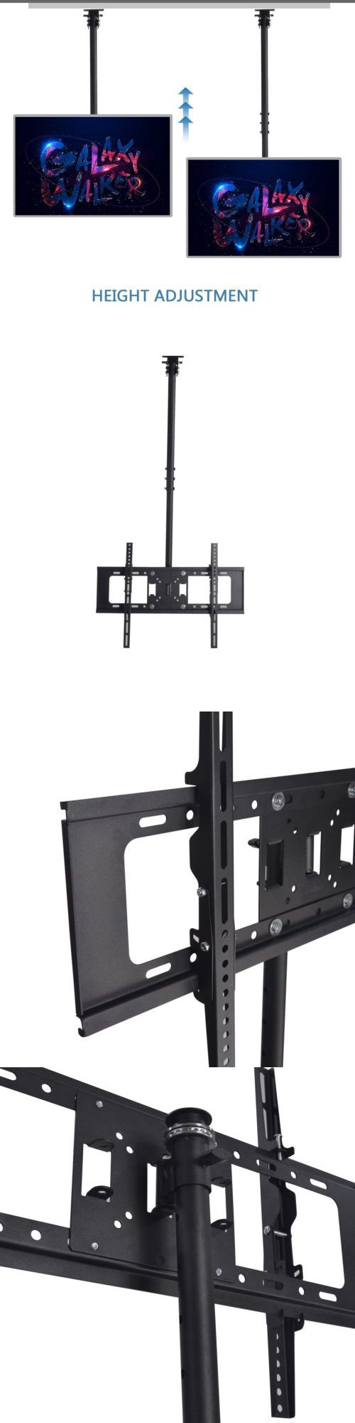 TV Mounts and Brackets  Ceiling Tv Mount Bracket Tilt Swivel Led Lcd Plasma  30 32. The 25  best Ceiling mount tv bracket ideas on Pinterest   Define