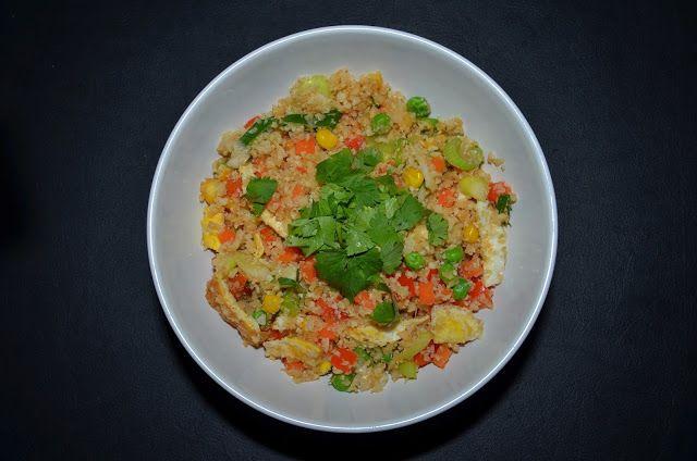 Mlsná máma : Smažená květáková rýže