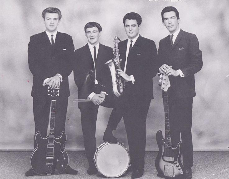 L to R: Owen Ray, Len Richardson, Denis Hutchinson (dec.) and Barry Bernoth. Taken 1966
