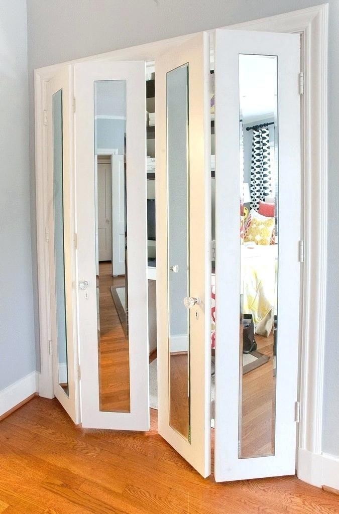 3 Panel Closet Door Pass Closet Doors 3 Door Sliding Bypass Panels Multi Hardware 3 Panel Mirrored Bifold Closet Doors Mirror Closet Doors Bedroom Closet Doors