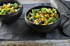 Bereidt ook eens groente in je Airfryer. Maak deze heerlijke combinatie van verschillende groenten en zet een kleurrijk en gezond bijgerecht op tafel.