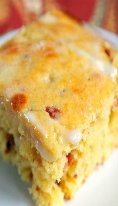 A great recipe from the Biltmore House in North Carolina, for cornbread with crunchy bacon, corn and buttermilk, all in one super special recipe!