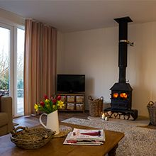 Rose Lodge, Monmouthshire furnished by Fabric Mills a stunning holiday cottage available to rent - http://www.fabricmills.co.uk/2015-01-28-14-04-09/inspiration/case-studies/285-rose-lodge.html