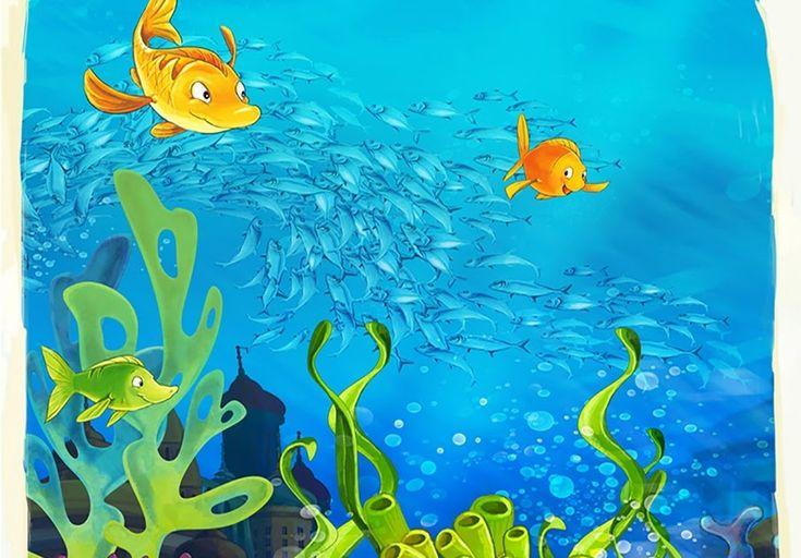 Keren 30 Gambar Kartun Di Bawah Laut Us 14 25 5 Off Under The Sea Fish And Tortoise Photo Studio Background Vinyl Cloth High Qual Kartun Gambar Kartun Gambar
