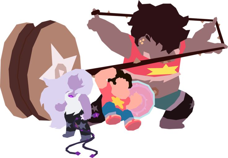 Steven Universe: Steven + Amethyst = Smoky Quartz by SamuelJEllis