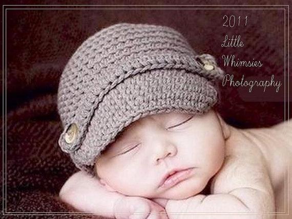 crochet newsboy cap - must make!