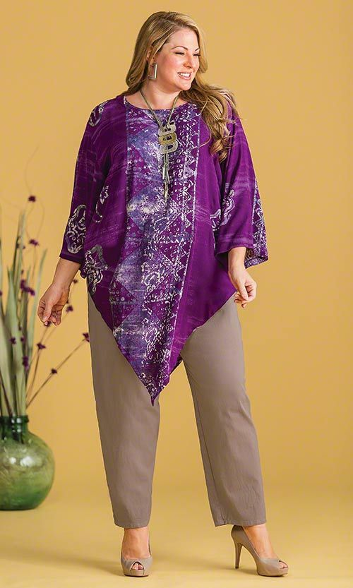 Brighton Tunic / MiB Plus Size Fashion for Women / Spring Fashion http://www.makingitbig.com/product/5107