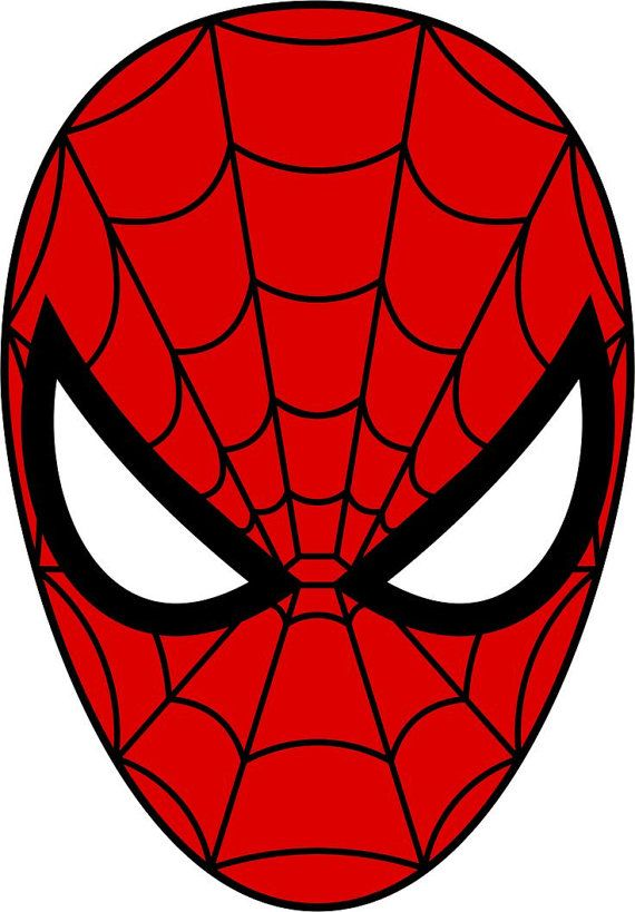 Spiderman Face Edible Image/Cake Topper