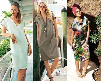 Выкройка пляжного платья + инструкция, как сшить пляжное платье своими руками