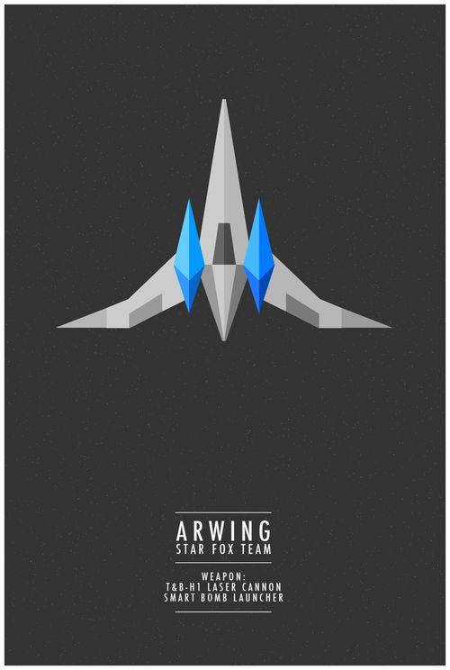 geeksngamers: Star Fox Minimalism - Designed by... | GamesNEXT