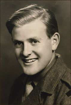 John le Carré, as a National Service second-lieutenant, aged 20