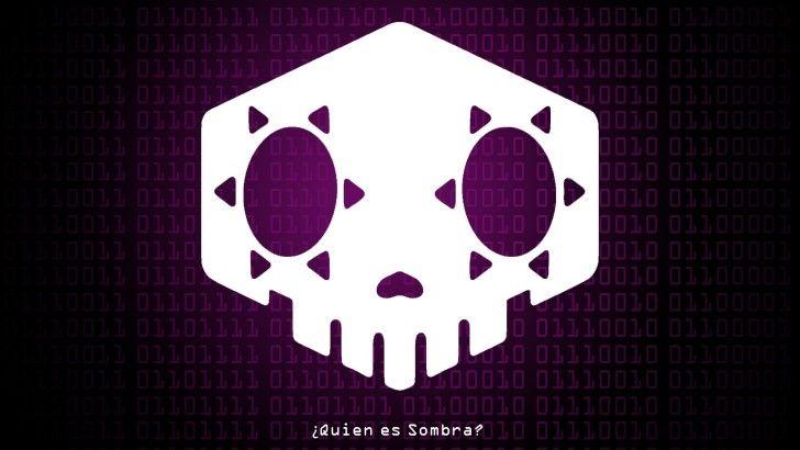 Overwatch Sombra Logo Hacker Wallpaper