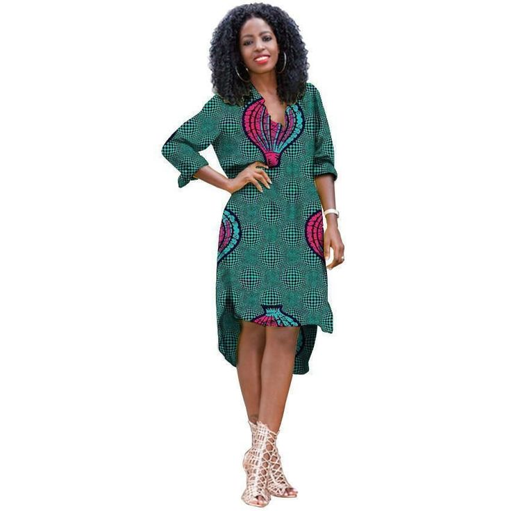 Elegant African Women Traditional Dresses, Kitenge Dress, African Clothing