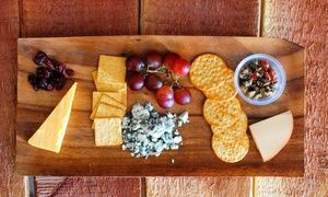 Groupon - Tasting for Two, Glasses, and Cheese with Option for One or Two Take-Home Bottles at Orange Coast Winery (Up to 51% Off) in Newport Beach. Groupon deal price: $34