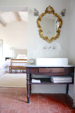 The Provence home of Chantal and Harry - traditional - bathroom - amsterdam - Holly Marder
