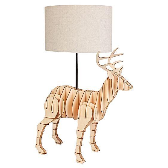 Deer Table Lamp by Micky & Stevie