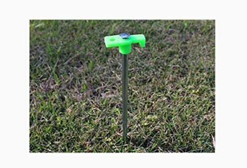 KRY Tent Stake Pegs Luminous Steel Nail 1PC/4PCS/10PCS/20PCS Stainless Steel Strengthen Tent Camping Accessories 25CM Long Ground Nails Tent Peg