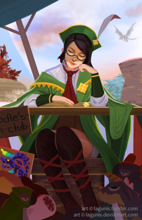 Guildmarm - Dreaming of Doodle. From Monster Hunter 4 Ultimate by Lagunis