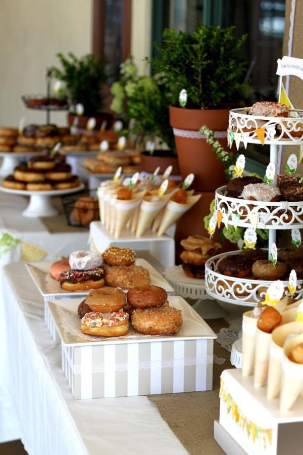 Una fiesta donuts, espectacular! / A spectacular doughnut party!
