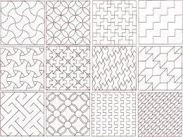 patronen:Een patroon bestaat uit een herhaling van eenvoudiger eenheden