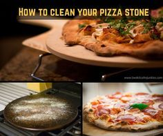 How to clean your pizza stone ? Caring for your Pizza stone and keeping it clean will help you make better tasting pizzas and make sure your stone lasts as long as possible.