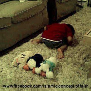 Too cute Masha'Allah!