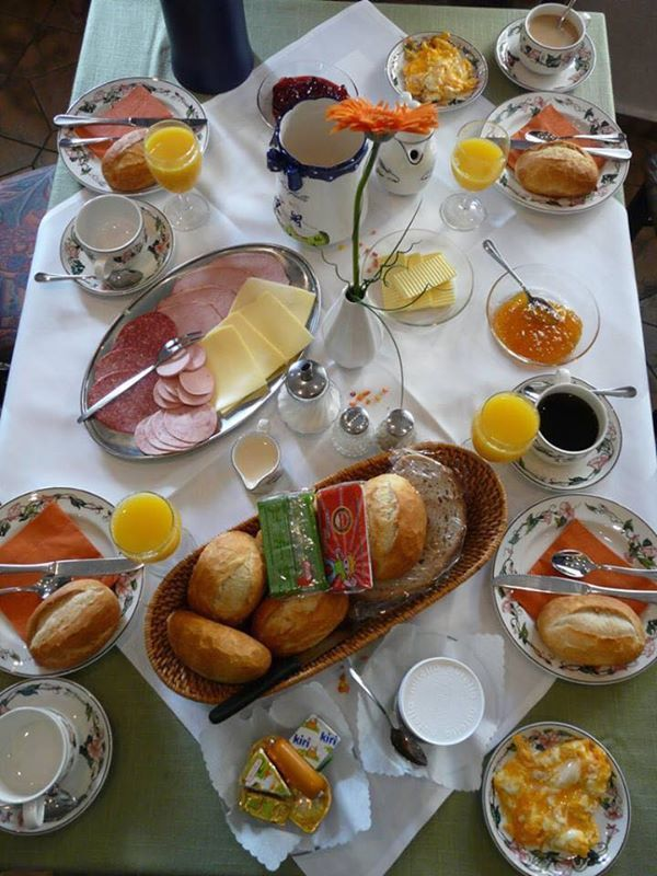 Love this traditional German breakfast! Who's going to join me?