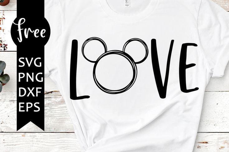 Download Mickey svg free, love svg, disney svg, instant download ...