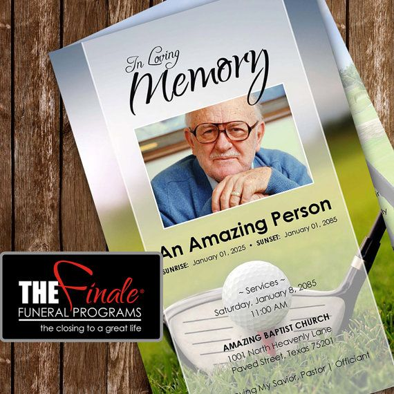 36 Best Funeral Program Templates Images On Pinterest Microsoft
