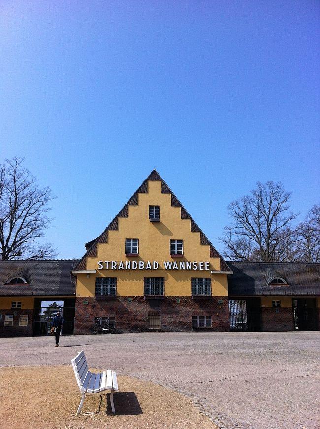 Strandbad Wannsee   Foto: Sabine Wittig