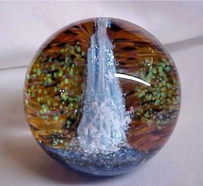 Glass Eye Studio 'Waterfall' Art-Glass Paperweight   eBay ♥≻★≺♥