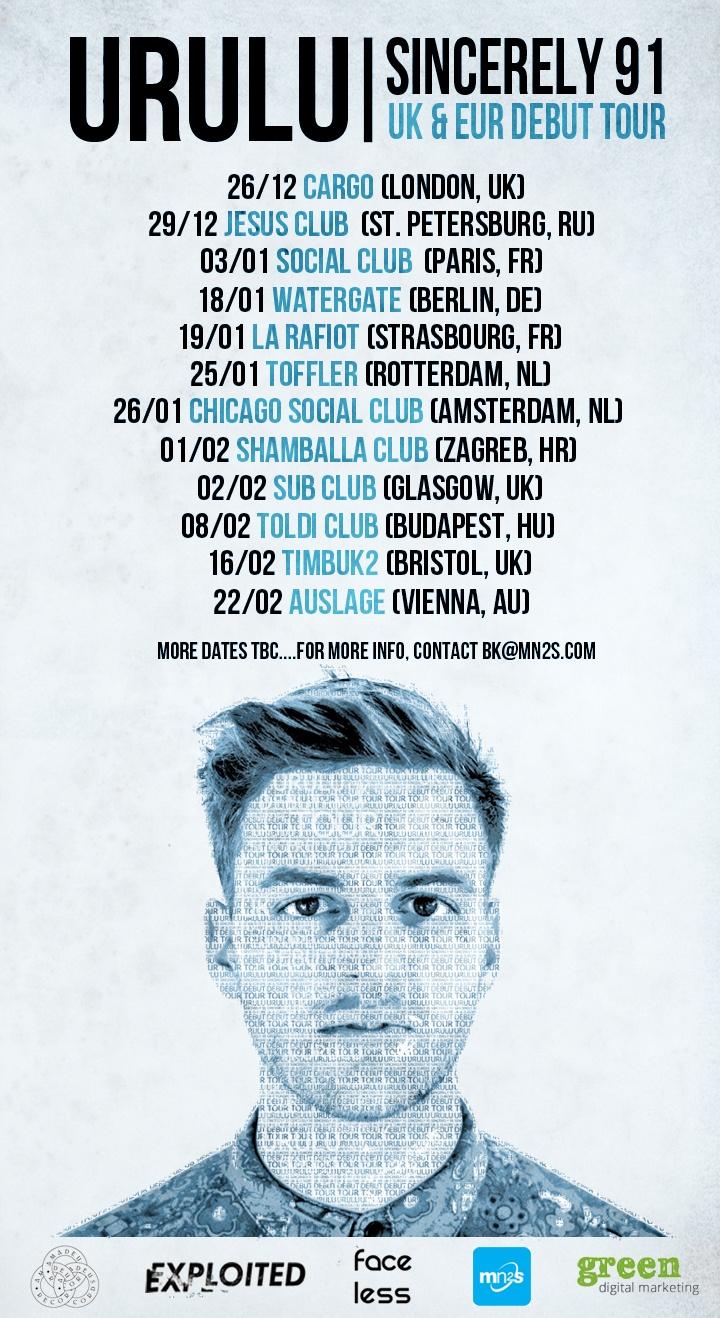 Urulu - UK and Europe tour 2012/2013