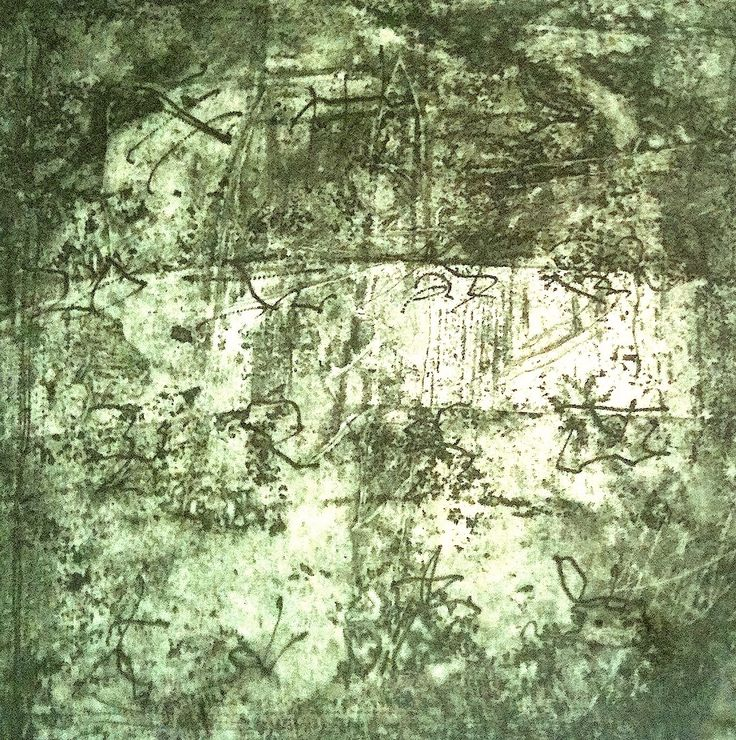 Printing by Mireia Rosich. Ideogram. Etching, 2013