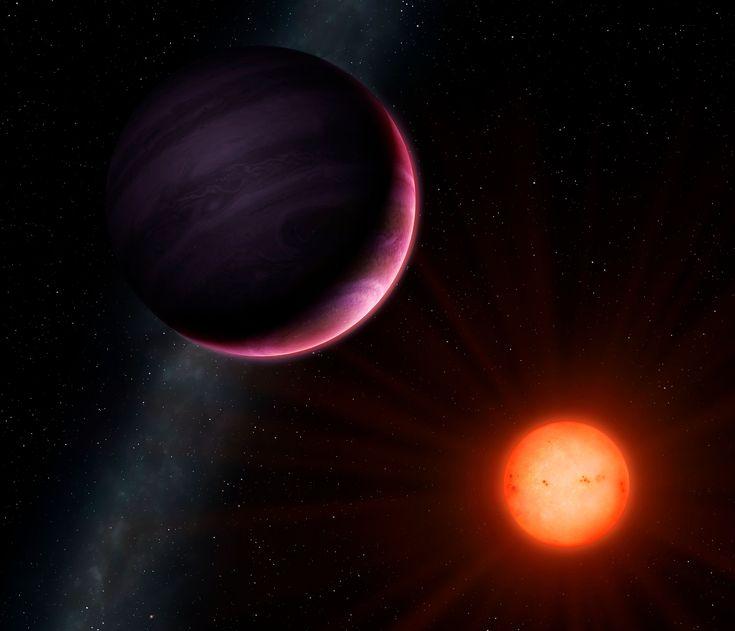 Ilustración de artista del planeta NGTS-1b con su estrella vecina. Crédito: University of Warwick/Mark Garlick. Un planeta gigante, cuya existencia se creía extremadamente poco probable, ha sido descubierto por una colaboración internacional de astrónomos. El inusual planeta, NGTS-1b es el planeta más grande comparado con el tamaños de su estrella compañera descubierto hasta la fecha.