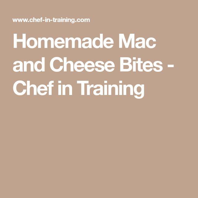 Homemade Mac and Cheese Bites - Chef in Training