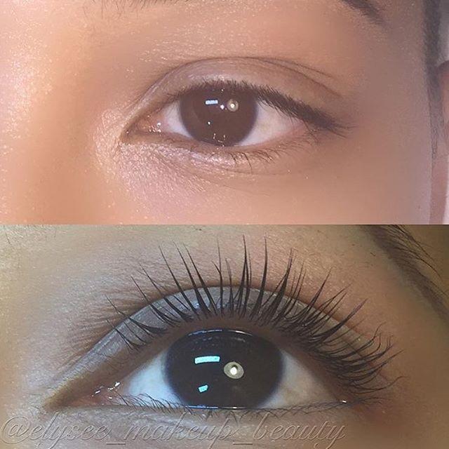 loving my Keratin eyelash lift! @elysee_makeup_beauty
