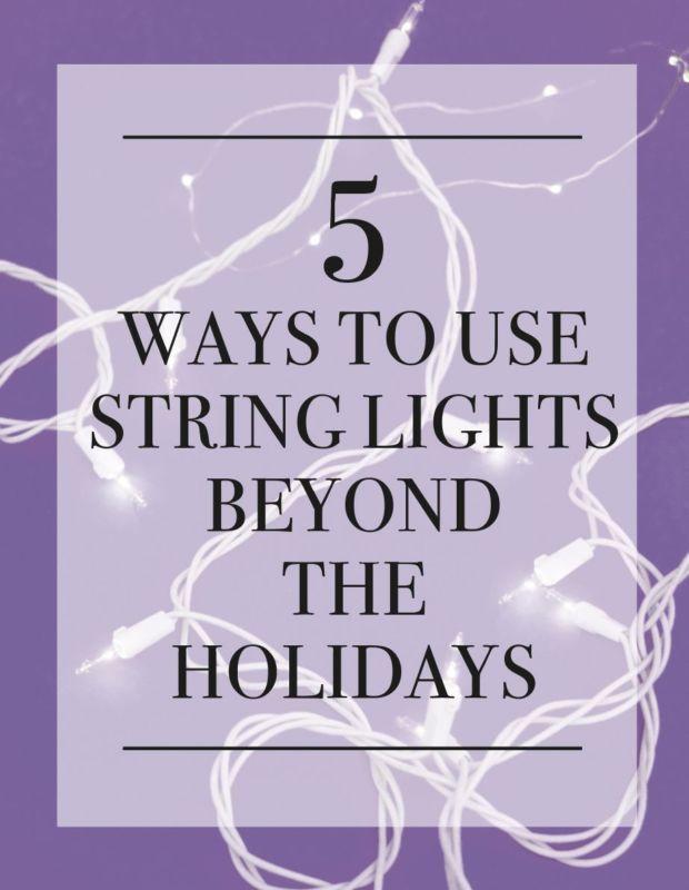 Using String Lights Beyond the Holidays | eBay