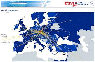 """Идеальное путешествие: CSA и """"Аэрофлот"""" сделали скидку на билеты в Прагу"""