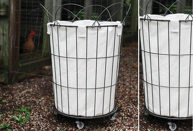 17 Best Ideas About Laundry Basket On Wheels On Pinterest