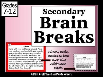 13 best literacy activities late elementary images on pinterest secondary brain breaks fandeluxe Choice Image