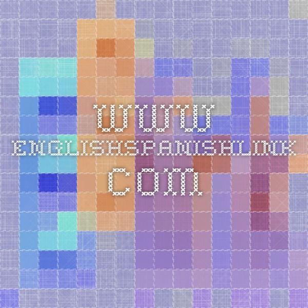www.englishspanishlink.com