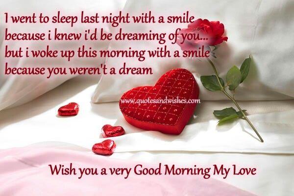 Good Morning Love Hot : Wish you a very good morning my love loving him