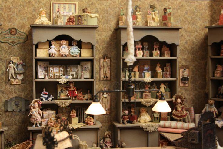 Toy Shop www.artofmini.com