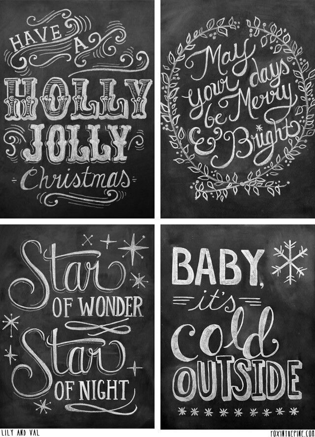 chalkboard designs holiday printables pinterest winter sayings